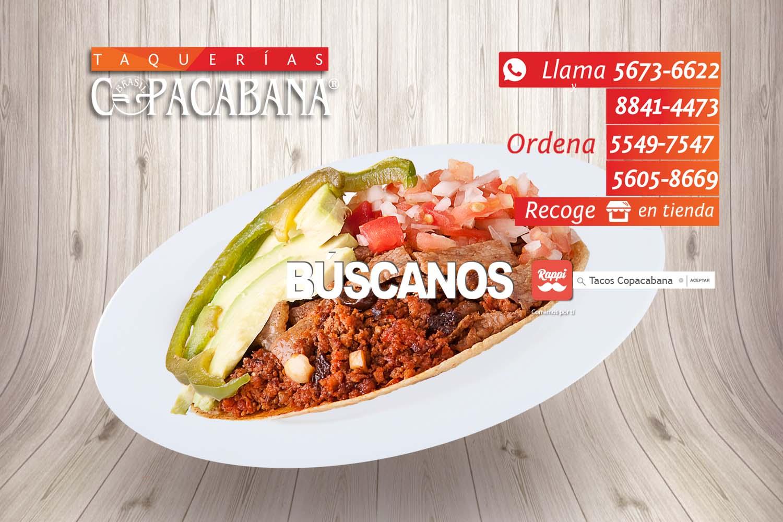 Copacabana tacos comida mexicana for Aguas frescas citricas naturales con
